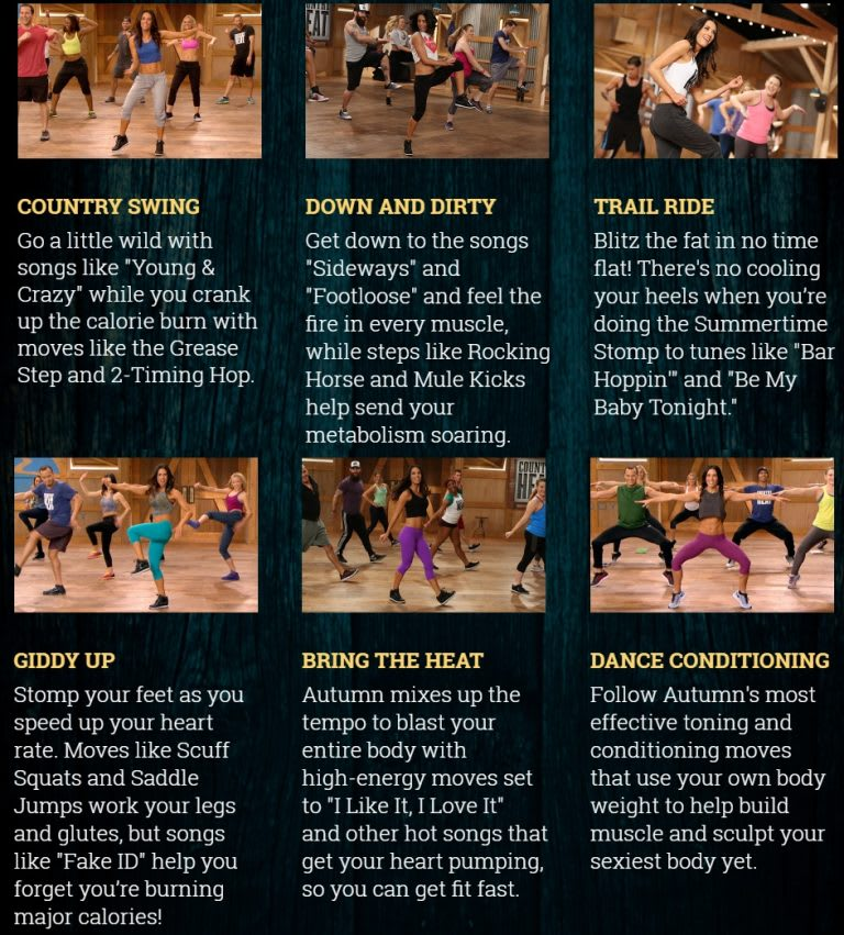 Bachbody Country Heat Workout Breakdown