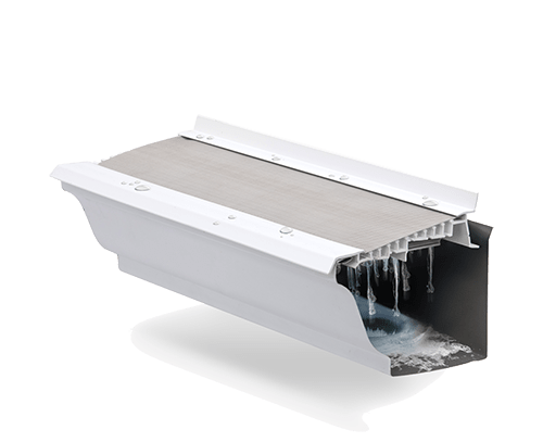 gutter with angle