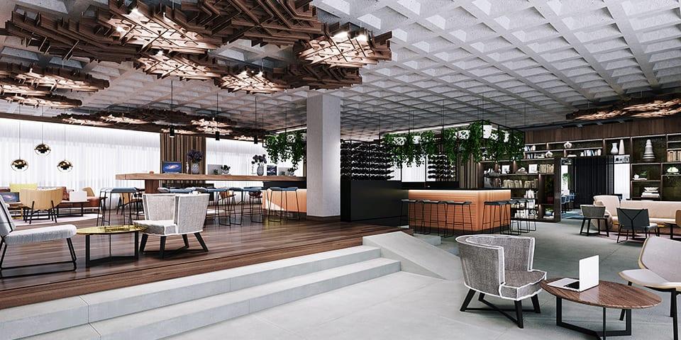 Rénovation et décoration de l'hôtel Ibis Gaîté Montparnasse