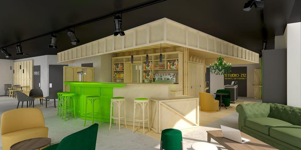 Rénovation et décoration de l'hôtel Ibis Styles de Paris - La plaine St Denis