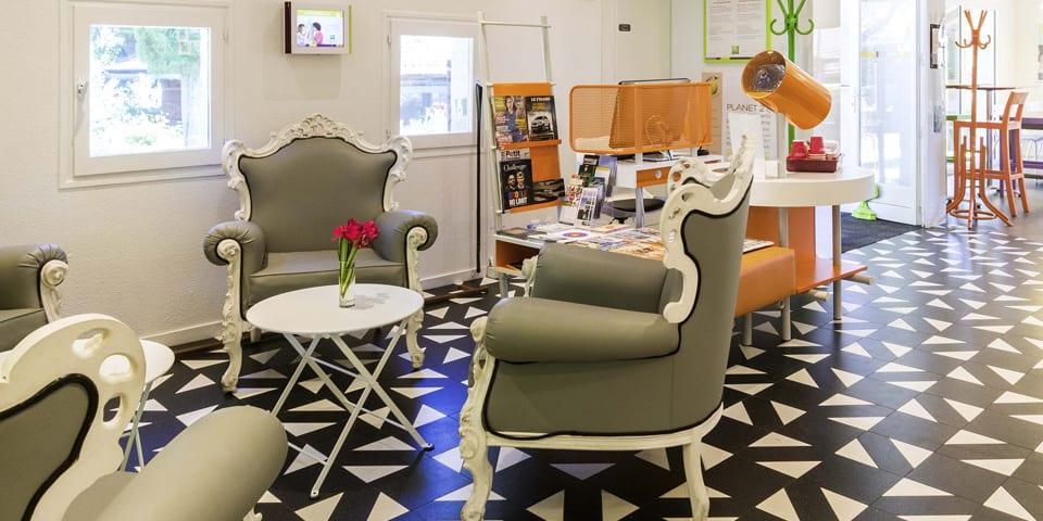 Projet d'architecture intérieure pour l'hôtel Ibis Styles d'Aix-en-Provence en 2013