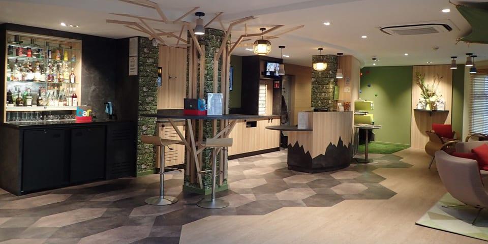 Projet d'architecture intérieure pour l'hôtel Ibis Styles d'Annecy en 2017