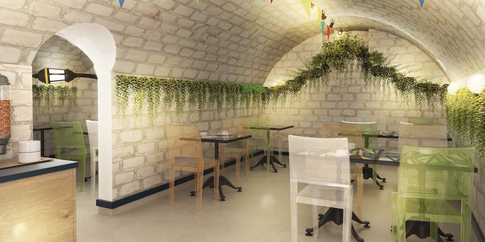 Projet d'architecture intérieure pour l'hôtel Ibis Styles Maine Montparnasse à Paris 14