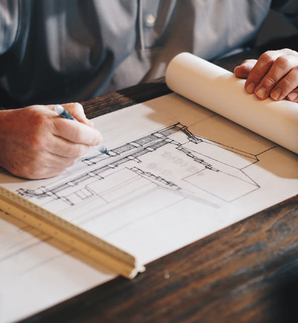 Étape technique, APD, APD, DCE du projet d'architecture intérieur pour hôtels et commerces