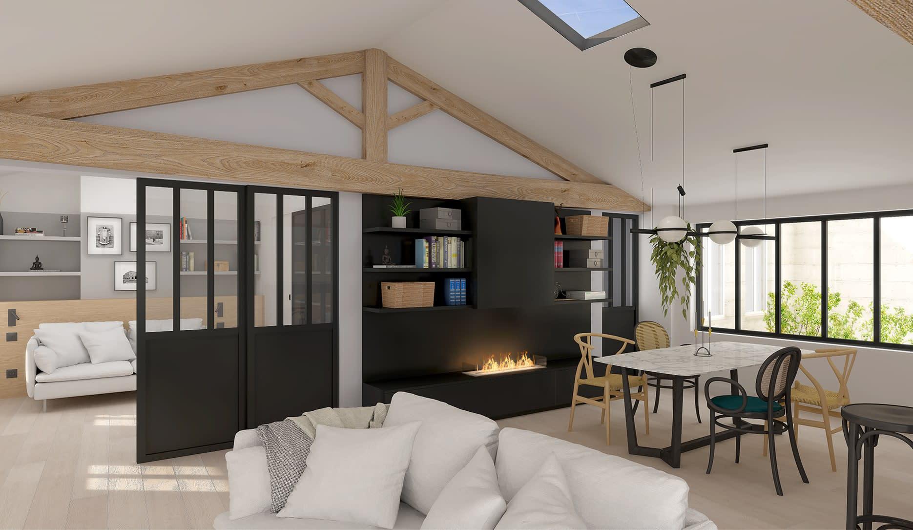 Projet d'aménagement et de décoration d'un appartement particulier