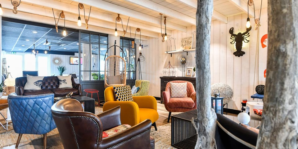 Rénovation et architecture d'intérieur pour l'hôtel Ibis Styles de Châtelaillon-Plage