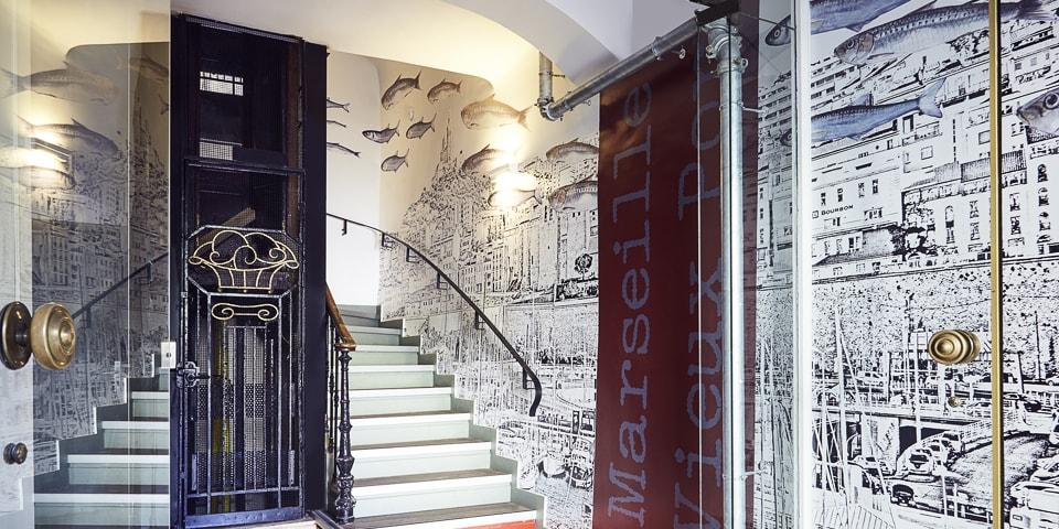 Rénovation et aménagement de l'hôtel Ibis Styles de Marseille port