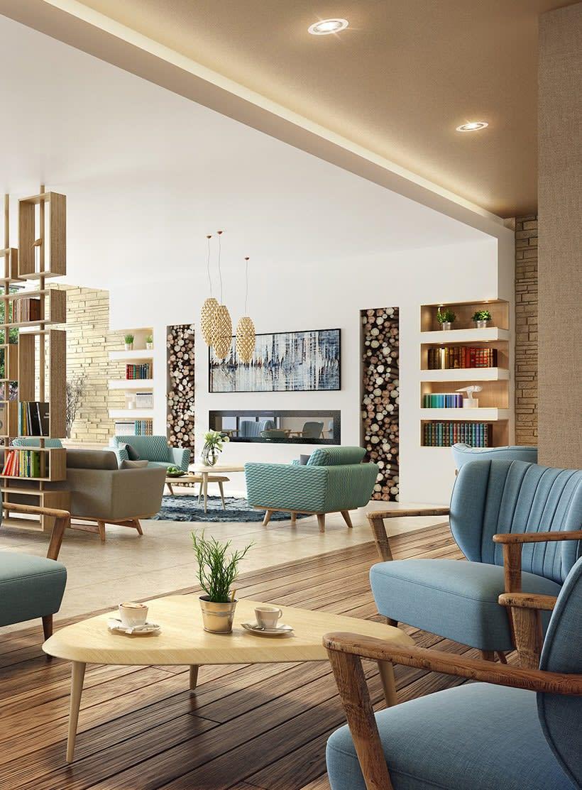 Agence d'architecture d'intérieur pour les commerces et programme immobilier neuf
