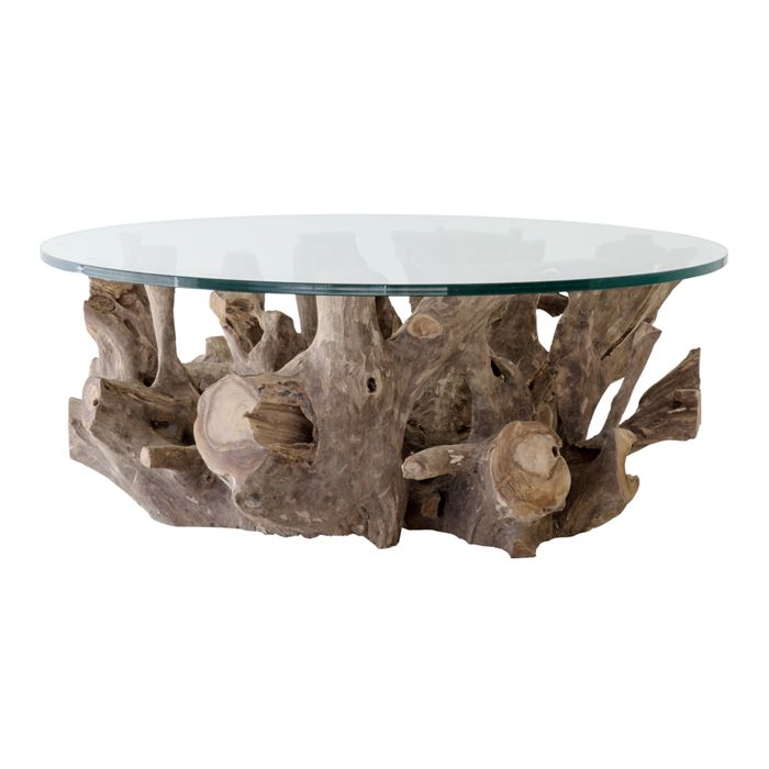 Teak Root Coffee Table - Round For Sale | Weylandts South ...