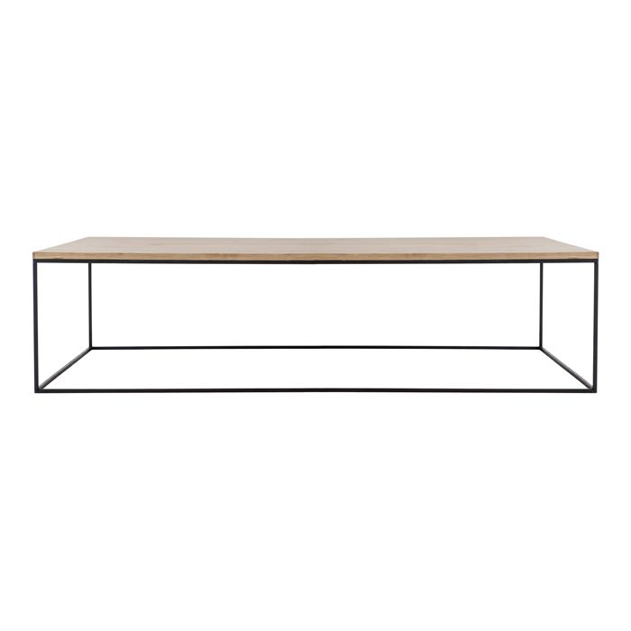 Rod Coffee Table - Rectangular For Sale