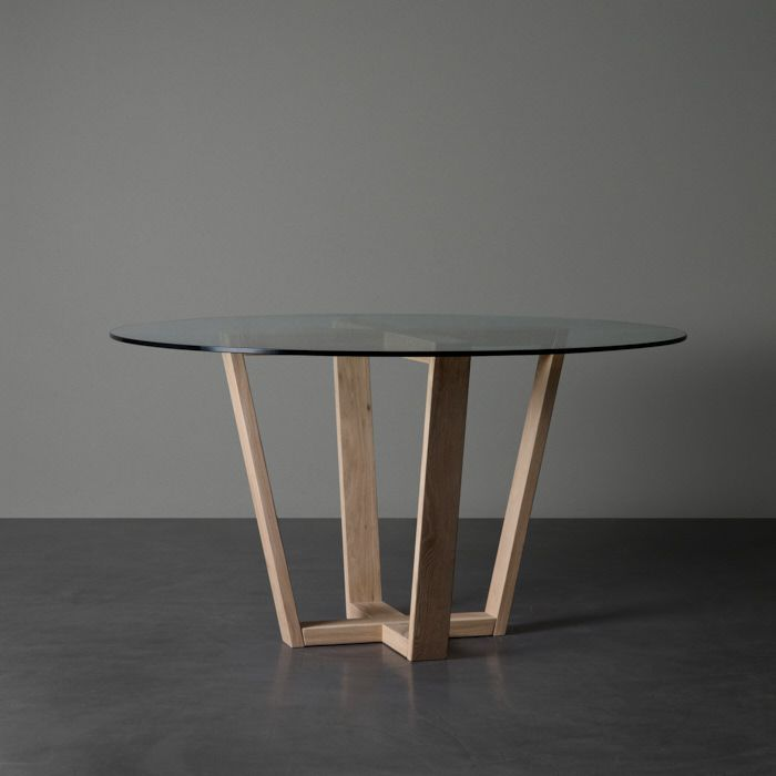 Round Sigma Dining Table With Glass Top For Sale Weylandts South Africa