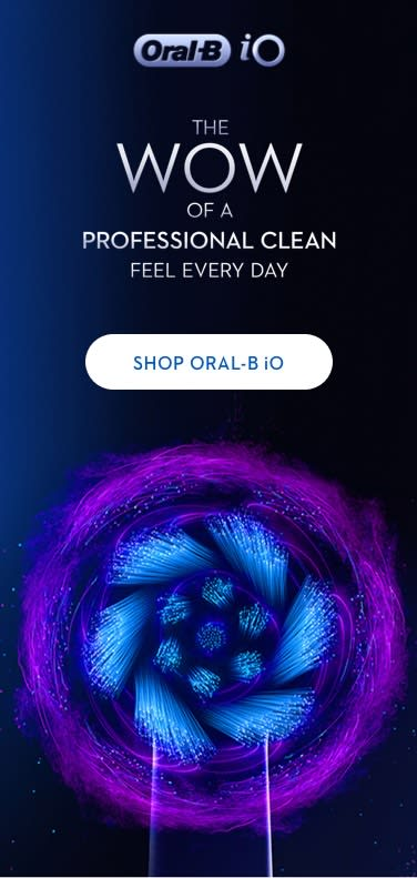 Oral-B iO Electric Toothbrush Intro