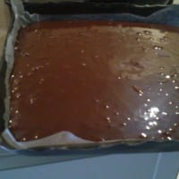 cocoa and yogurt cake step 4