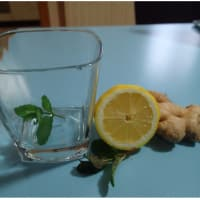 Herbal tea with ginger step 1
