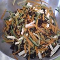 Spaghetti di soia con verdure ricetta di yen step 5