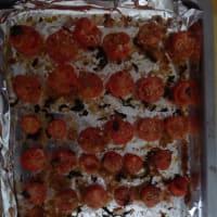 Tallarines con crema de aguacate y tomates cherry paso 4