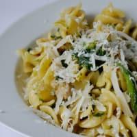 Fusilli with broccoli and sausage