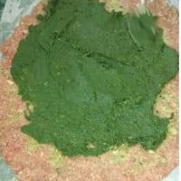 carne asada rellena y espinacas paso 5