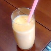 refrescante smoothie del melón