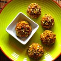 Palline di miglio in crosta di pistacchi step 5