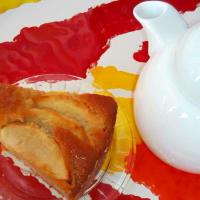 manzana y avellana torta