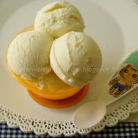 Ice cream with citrus yogurt step 4
