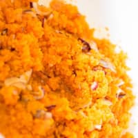 Fishing pumpkins: zucca, ceci e gallinella step 1
