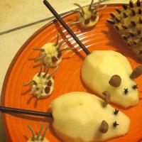 Dolcetti, trucos y animales de Halloween paso 2