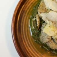 Feuille de brócoli y el cáñamo paso 4