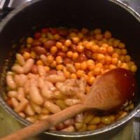 sopa de verduras casera paso 2