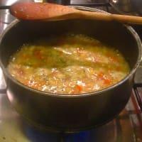 sopa de verduras casera paso 3