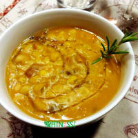 sopa de verduras casera