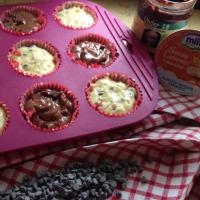 molletes del plátano y el chocolate sin lactosa paso 4