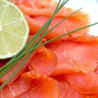 Farfalle con zucchine, salmone e gamberetti step 3