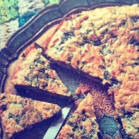 Frittata with herbs