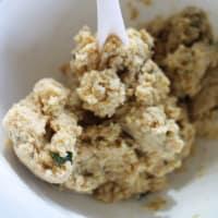 Gnocchi di farro y la quinoa paso 6