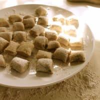 Gnocchi di farro y la quinoa paso 10