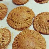 galletas corazón vegetariana manzana