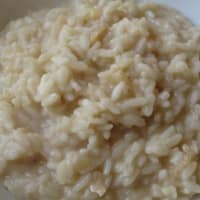 Risotto with pears and gorgonzola