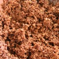 cookie de alimentos crudos y chocolate grano de trigo sarraceno paso 5