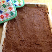 Brownies de chocolate y aguacate paso 5