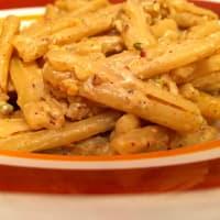pasta casera con pesto de pistacho paso 7