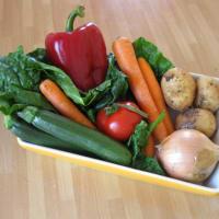 caldo de verduras paso 1