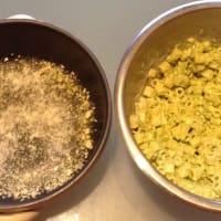 gratinado de pasta con crema de guisantes y queso provolone paso 6
