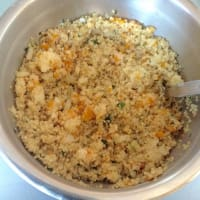 Cake quinoa and vegetables step 9
