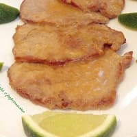 Scaloppine al lime