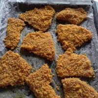 chuletas de pavo con copos de maíz tostado paso 9