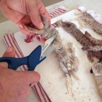 Lumaconi la salsa de pescado paso 2