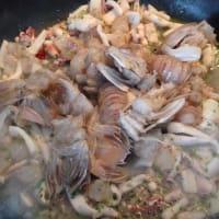 Lumaconi al ragu di pesce step 5