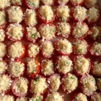 tomates cherry rellenos de quinua paso 7